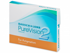 PureVision 2 for Astigmatism (3 lenses)