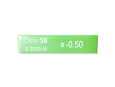 Clear 58 (6 lenses)