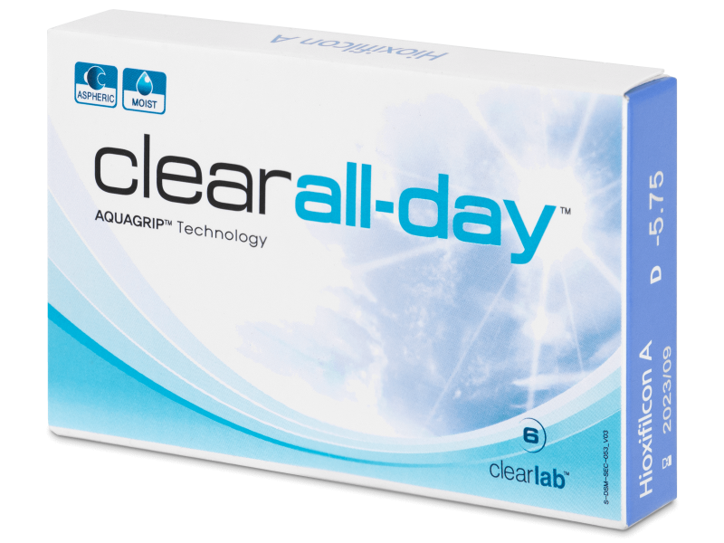 Clear All-Day (6 lenses)