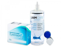 PureVision 2 (6lenses) +Laim-CareSolution 400ml