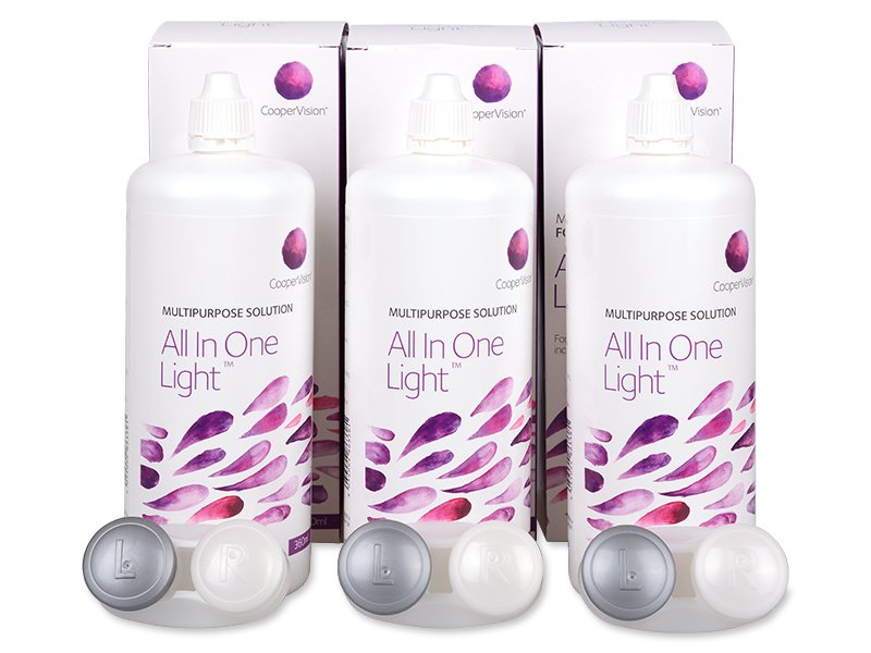 All In One Light Solution 3 x 360 ml