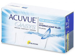 Acuvue Oasys for Astigmatism (12lenses)
