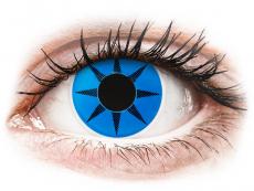 Blue Star Contact Lenses - ColourVue Crazy (2 coloured lenses)