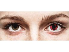 Red Mangekyu Contact Lenses - ColourVue Crazy (2 coloured lenses)