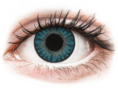 Blue contact lenses - Power - TopVue Color (10 daily coloured lenses)