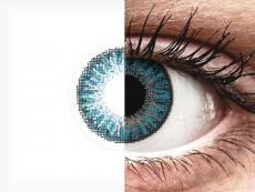 Blue contact lenses - TopVue Color (10 daily coloured lenses)