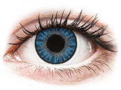 Sapphire Blue contact lenses - Power - TopVue Color (10 daily coloured lenses)