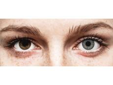 Soft Grey contact lenses - TopVue Color (10 daily coloured lenses)