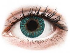 Turquoise contact lenses - Power - TopVue Color (2 lenses)