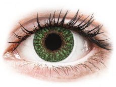 Green contact lenses - TopVue Color (2 monthly coloured lenses)