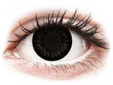 Dolly Black Contact Lenses - ColourVue BigEyes (2 coloured lenses)