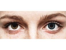 Cool Blue Contact Lenses - Power - ColourVue BigEyes (2 coloured lenses)