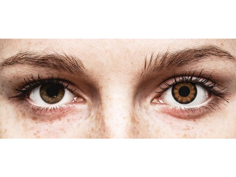 Sexy Brown Contact Lenses - ColourVue BigEyes (2 coloured lenses)