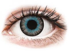 Blue Gray Fusion contact Lenses - Power - ColourVue (2 coloured lenses)