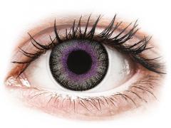 Violet Gray Fusion Contact Lenses - ColourVue (2 coloured lenses)