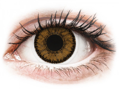 Brown India contact lenses - SofLens Natural Colors - Power (2 monthly coloured lenses)