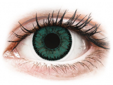Green Jade contact lenses - SofLens Natural Colors (2 monthly coloured lenses)