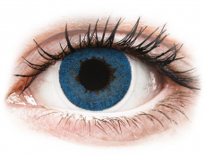 Pacific Blue contact lenses - FreshLook Dimensions (2 monthly coloured lenses)