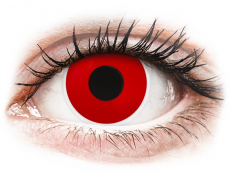 Red Devil contact lenses - ColourVue Crazy (2 daily coloured lenses)