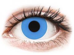 Sky Blue contact lenses - ColourVue Crazy (2 daily coloured lenses)