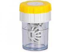 Lens Case Twist Top - Yellow