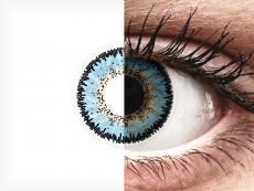 Blue Aqua 3 Tones Contact Lenses - ColourVue (2 coloured lenses)
