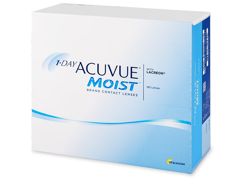 1 Day Acuvue Moist (180lenses)