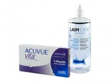 Acuvue Vita (6 lenses) + Laim-Care Solution 400 ml