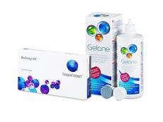 Biofinity XR (3 lenses) + Gelone Solution 360 ml