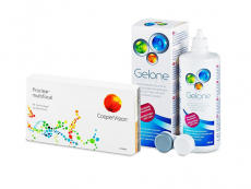 Proclear Multifocal (6 lenses) + Gelone Solution 360 ml