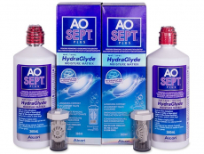 AO SEPT PLUS HydraGlyde Solution 2x360 ml