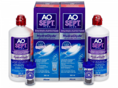 AO SEPT PLUS HydraGlyde Solution 2x360ml
