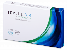 TopVue Air for Astigmatism (3 lenses)