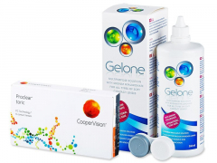 Proclear Toric XR (6 lenses) + Gelone Solution 360 ml