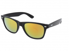 Sunglasses Alensa Sport Black Orange Mirror