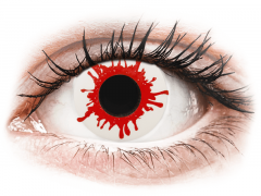 Wild Blood contact lenses - ColourVue Crazy (2 daily coloured lenses)