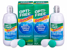 OPTI-FREE RepleniSH Solution 2 x 300 ml