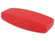 Hard case for glasses in red