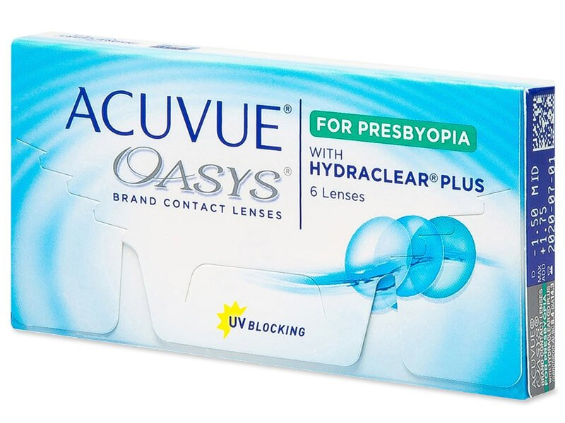 Acuvue Oasys for Presbyopia (6 lenses)