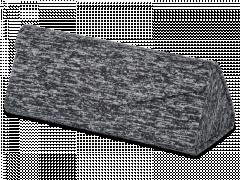 Black case for glasses - Brindle
