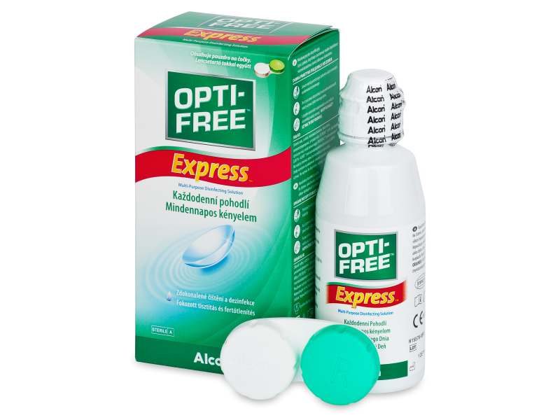 OPTI-FREE Express Solution 120 ml