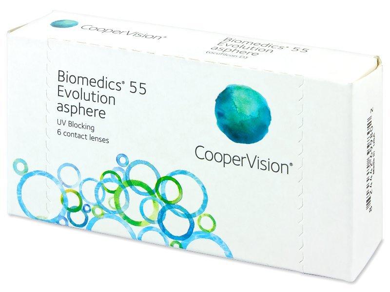 Biomedics 55 Evolution (6lenses)
