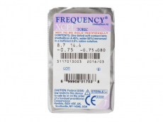 FREQUENCY XCEL TORIC (3lenses)