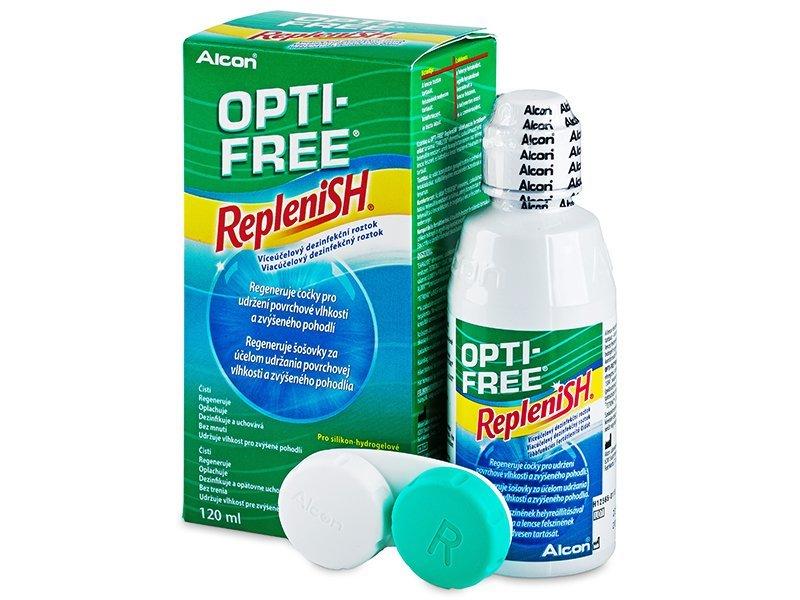 OPTI-FREE RepleniSH Solution 120ml