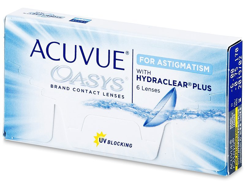 Acuvue Oasys for Astigmatism (6 lenses)
