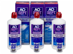 AO SEPT PLUS HydraGlyde Solution 3x360 ml