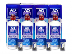 AO SEPT PLUS HydraGlyde Solution 4x360 ml